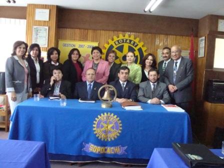Visita a Rotary Club La Paz-Sopocachi