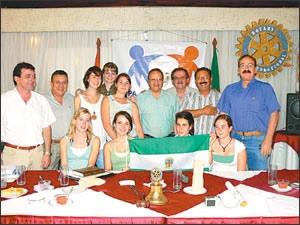 RC Grigota - Visita del Gobernador