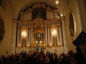 Solemne Inauguracion en la Iglesia San Felipe de Neri