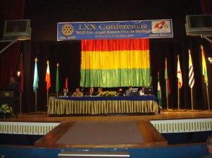Plenarias en el Teatro Gran Mariscal