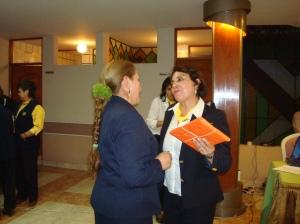 Reconocimientos de la esposa del Gobernador Ana Rosa de Soriano