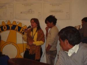 Rotarios artistas del karaoke