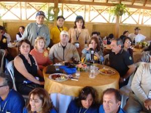 Almuerzo campestre con el c.r. Omar Adi y Nilda