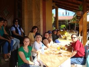 Almuerzo campestre con IGE