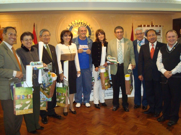 Presidentes zona 1 con EGD y Coordinador Irasa