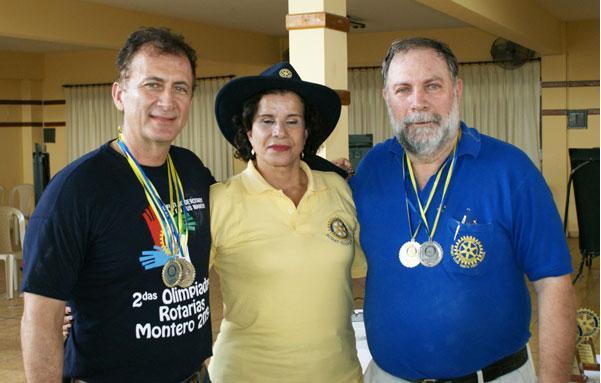 """Billar - Medalla de Plata para RC Santa Cruz Gustavo Barbery y """"ChiChi"""" Méndez"""