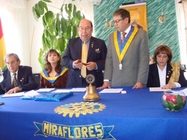 El gobernador con el Presidente Rolando Reyes