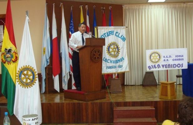 EGD Alfonso Via Reque disertó sobre Retención de Socios