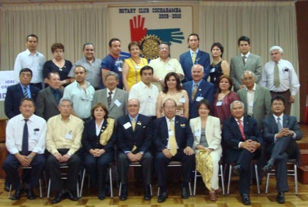 Participantes del Seminario para el Desarrollo del Cuadro Social