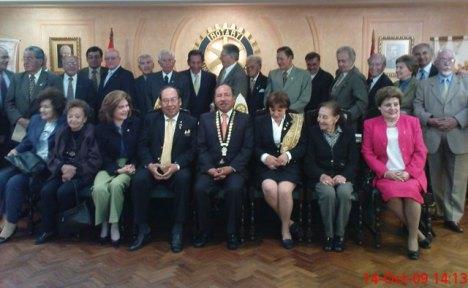 RC de La Paz con los conyuges e invitados