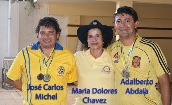 Futbolin Medalla de Plata para RC Minero José Carlos Michel y Adalberto Abdala