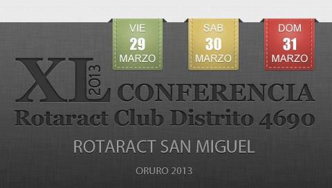 XL conferencia Rotaract