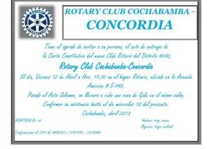 RC Cbba Concordia invit