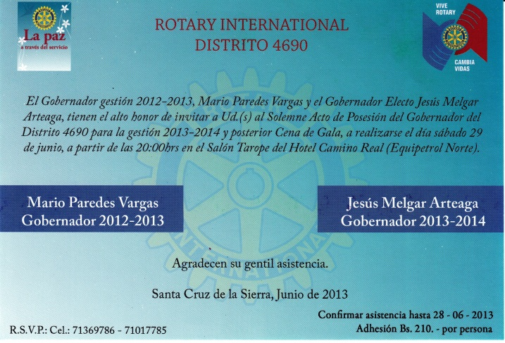 Invitacion JMegar