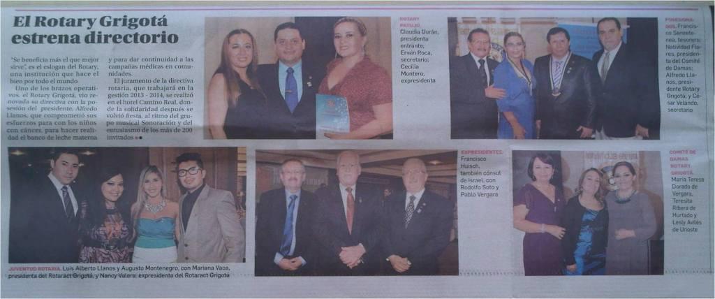 RC Grigota prensa
