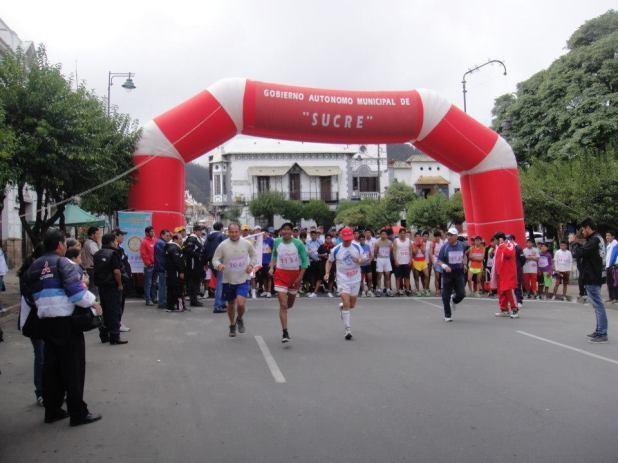 RC Sucre carrera pedestre